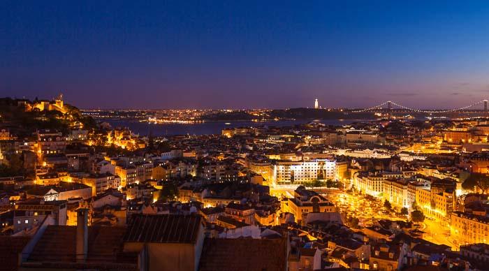 Miradouro Da Nossa Senhora do Monte - Lisbon, Portugal
