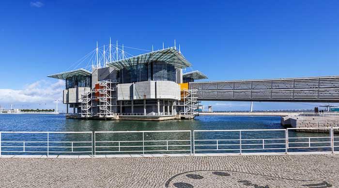 Oceanario de Lisbon in Lisbon, Portugal