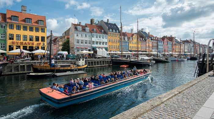 Canal Boat Tour in Copenhagen