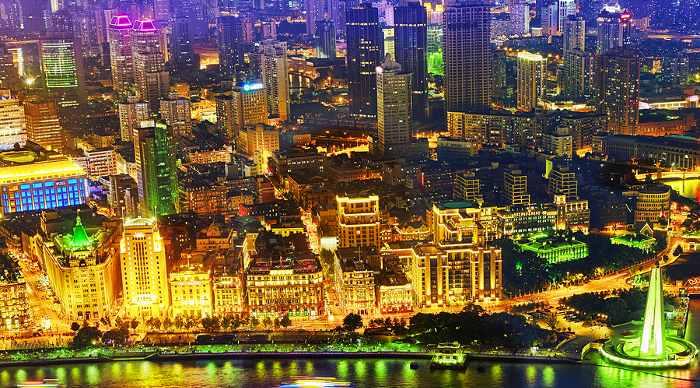 Beautiful View Of Shanghai