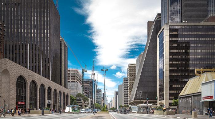 Paulista Avenue in Sao Paulo