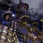 Futuristic Hotel