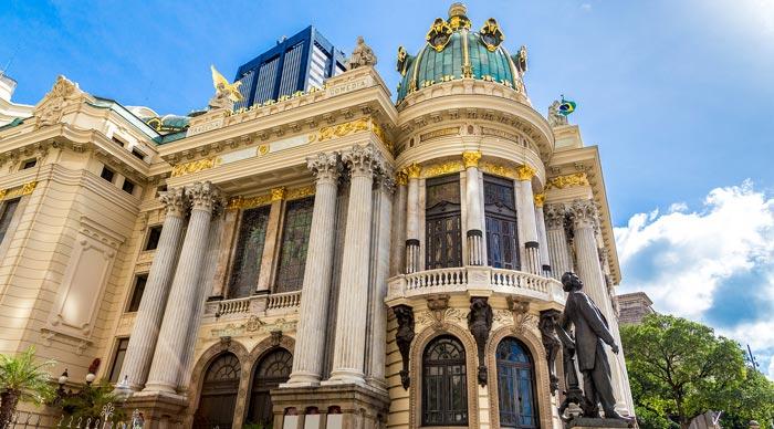 Teatro Municipal in Sao Paulo
