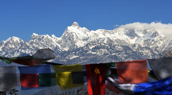 Kanchenjunga Panorama
