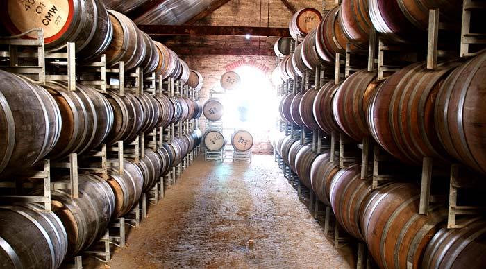 McLaren Vale wine cellar