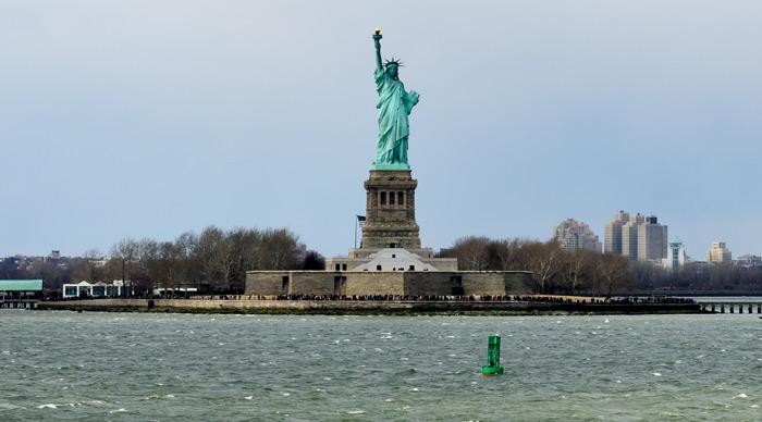 Statue of Liberty Ellis island