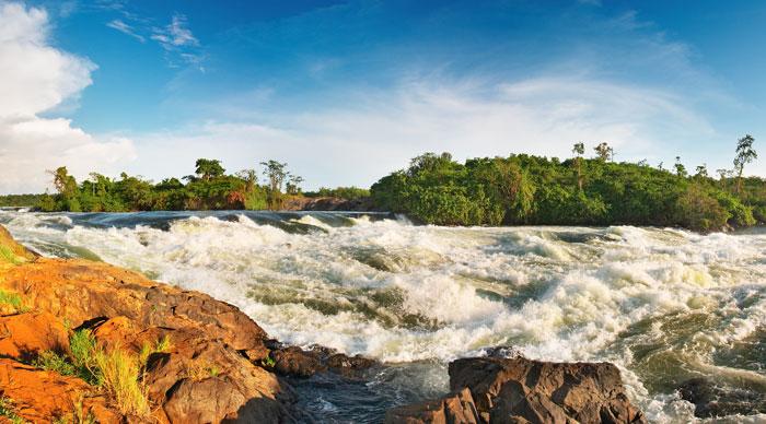 White Nile Bujagali Falls