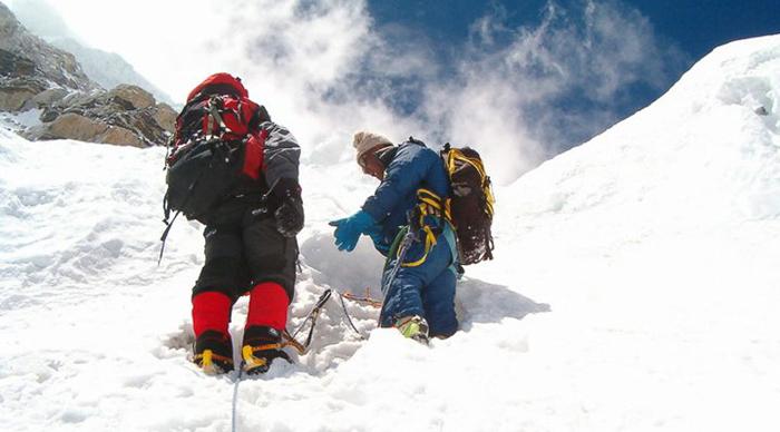 Pokhalde peak