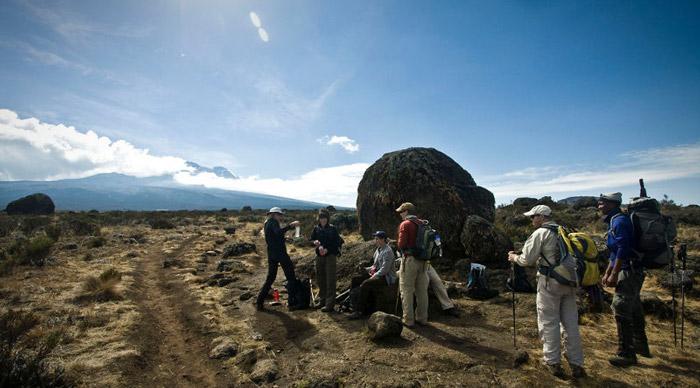 Shira route Kilimanjaro