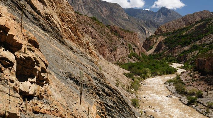 Cotahuasi River in Peru
