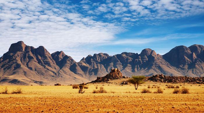 Rocks of Namib Desert