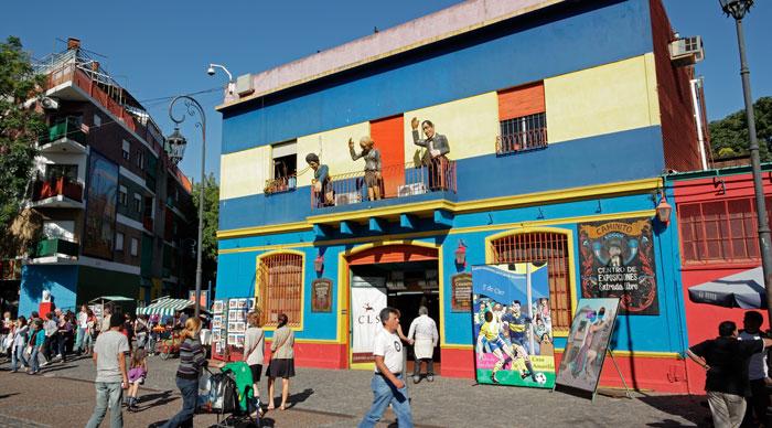 La Boca Caminito street