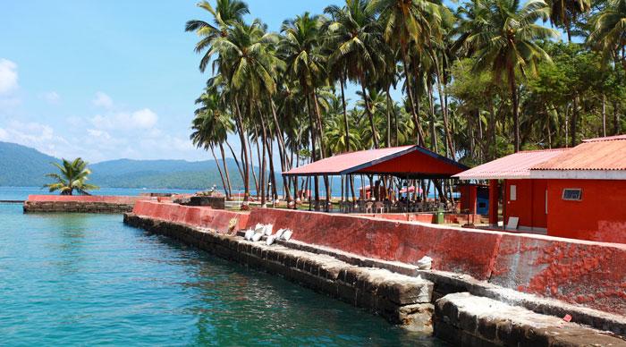 Ross Island, Andamans, India