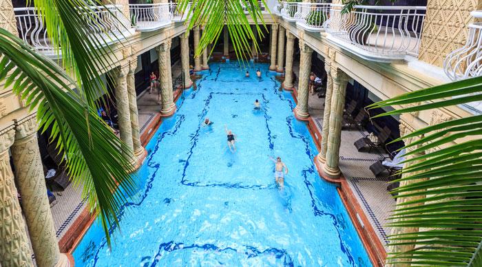Gellert Spa in Hungary