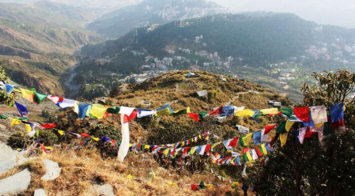 Himalayan landscape of McLeod Ganj