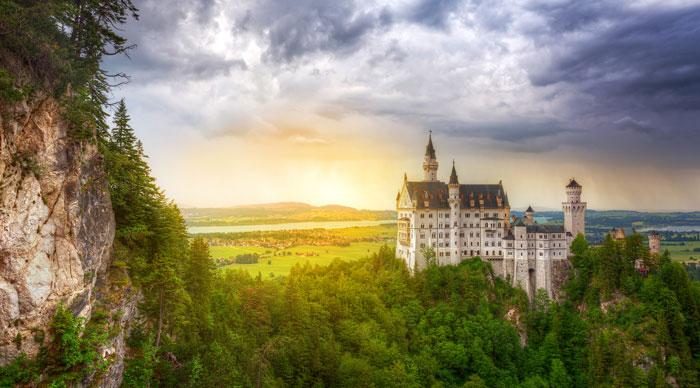 Save Download Preview Neuschwanstein Castle in the Bavarian Alps