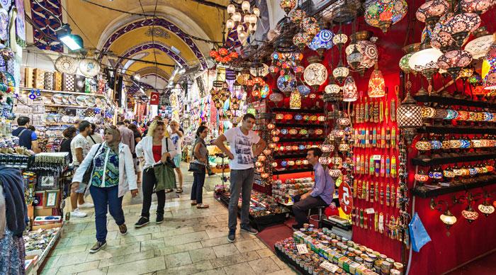 The markets of Grand Bazaar