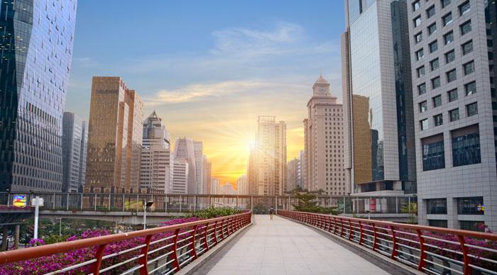 A view of Guangzhou cityscape