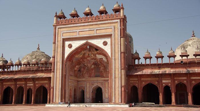 Jama Masjid in Fatehpur Sikri in India