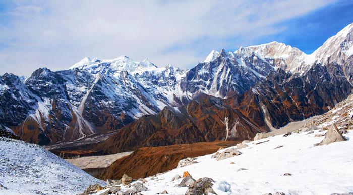 Larke Pass in the Nepal Himalaya