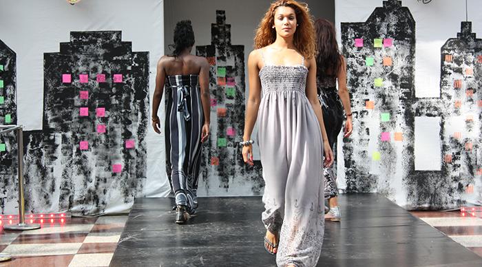 A glimpse of London Fashion Week