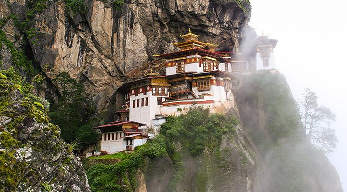 Taktsang Palphug Monastery (The Tiger's Nest) Bhutan