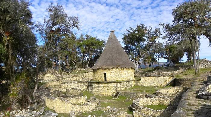 Fortress Chachapoyya in Kuelap