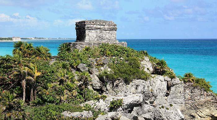 Sunny day in Yucatan Peninsula