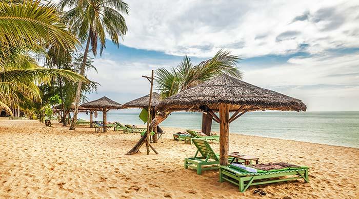 Phu Quoc beach in Vietnam