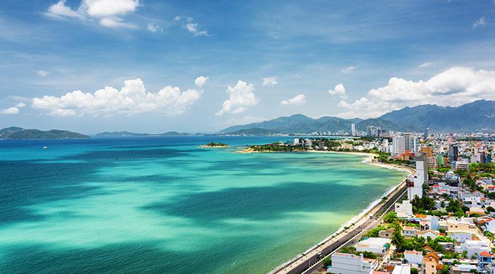 Beautiful view on Nha Trang