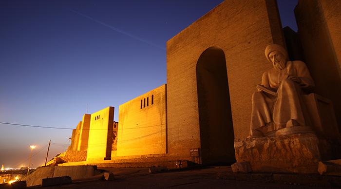 Arbil Castle in Kurdistan, Arbil, north Iraq