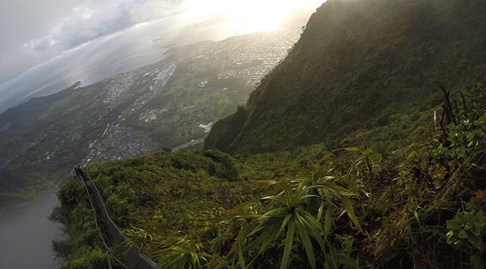 Haiku Stairs aka Stairway to Heaven in Hawaii