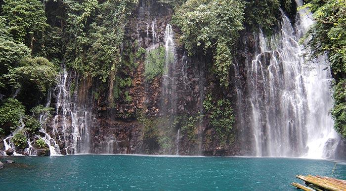 Tinago Falls located in Iligan City Philippines
