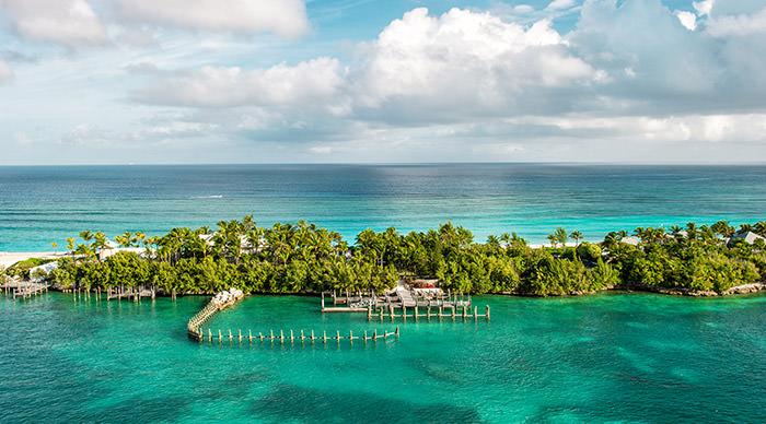 A resort un Nassau Bahamas